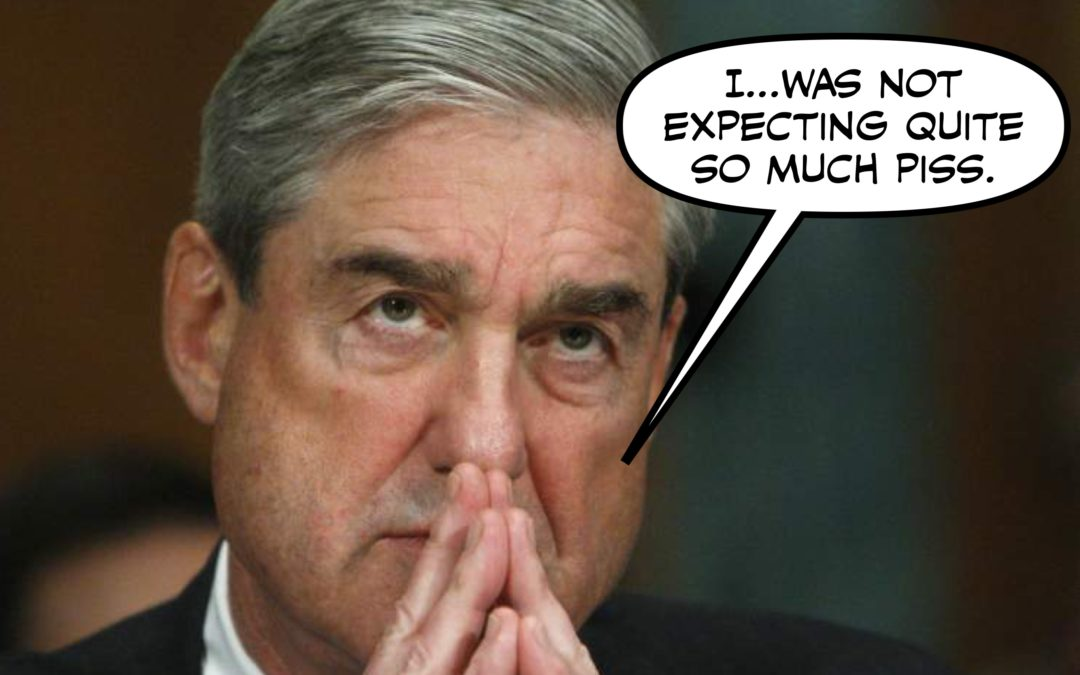 Bob Mueller May Be Watching the Pee Tape RIGHT NOW