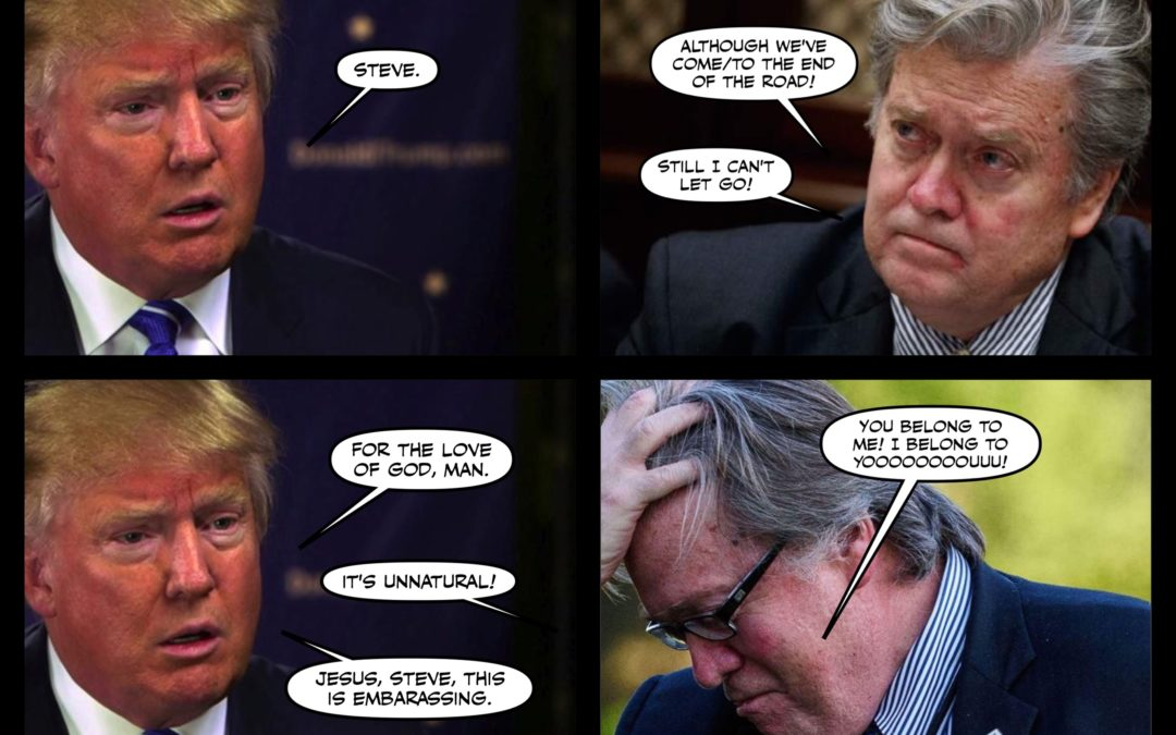 Carthage Day for Steve Bannon, and Other Madness