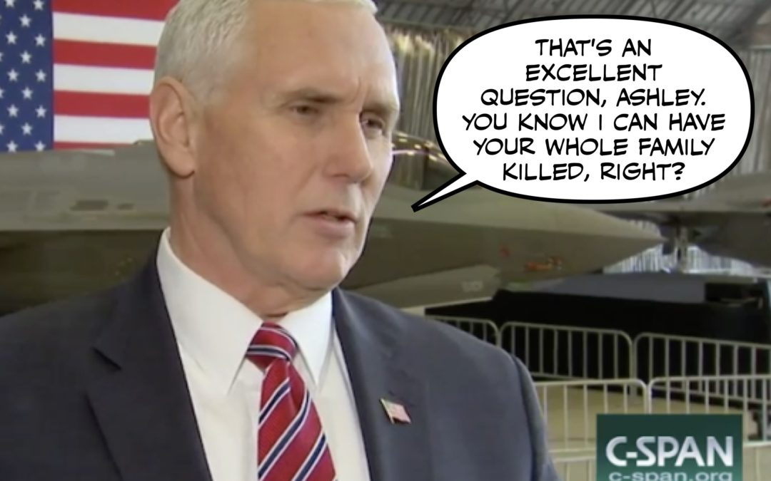Pence Gets Pantsed While Rand Rants and Kelly is Konfounded