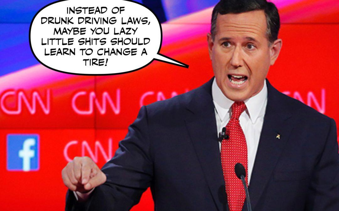This New 'Santorum Says' Advice Column is Gonna Be LIT
