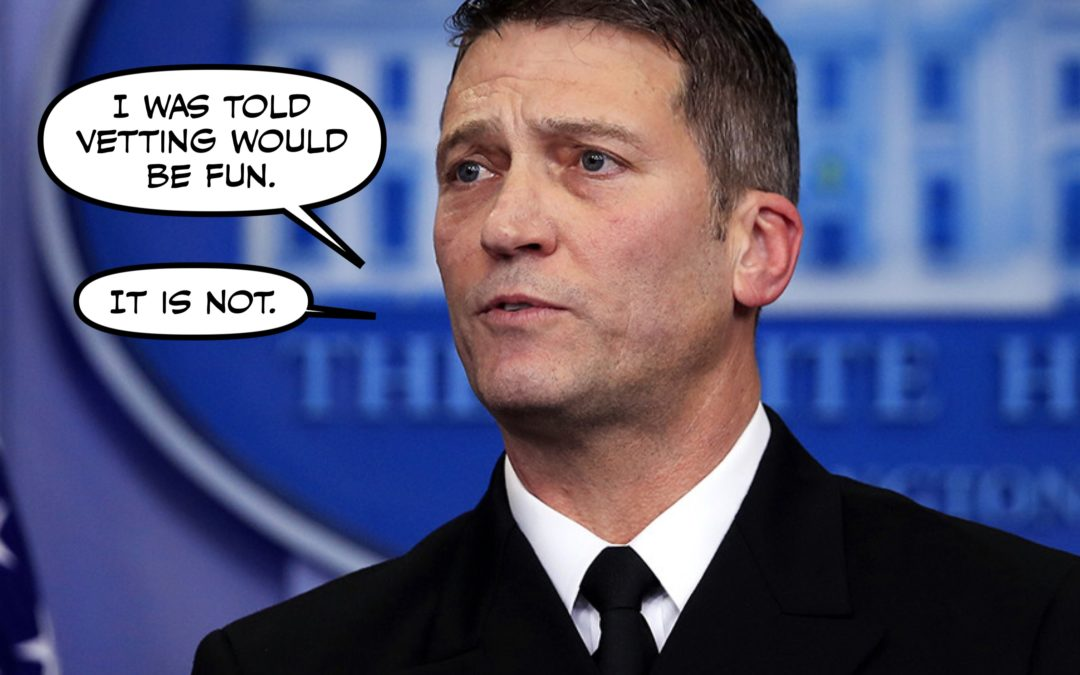 Admit It. By the Time the Sun Went Down, You'd Already Forgotten About Ronny Jackson.