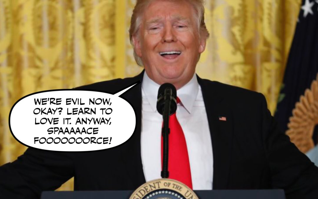 The President is a White Supremacist Terrorist and Other Hilarious, Hilarious Jokes