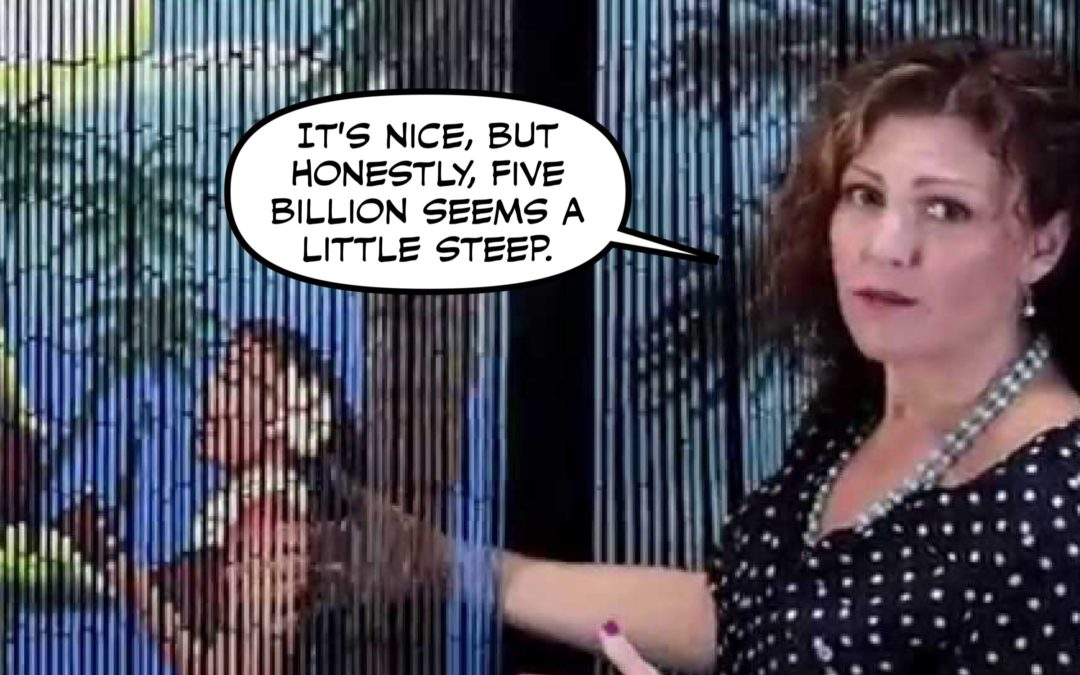 Shutdown Update: I Can't Top Nancy's Beaded Curtain Joke, But Here's a Blog Anyhow