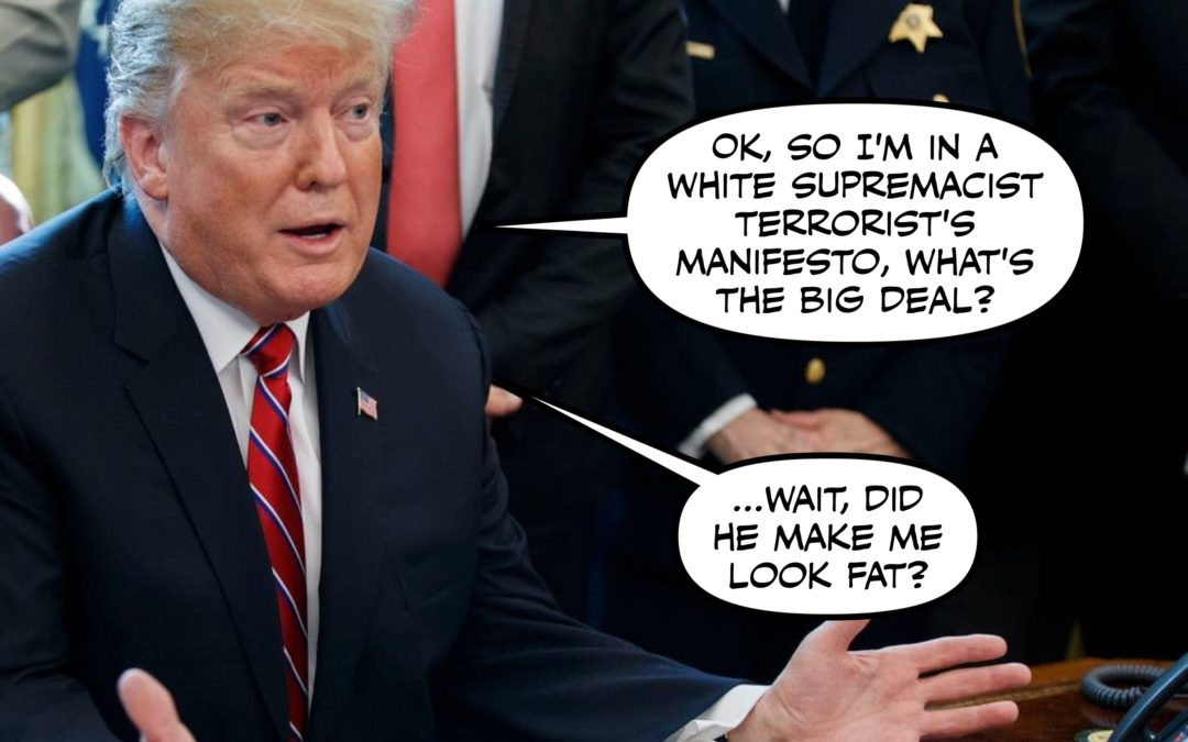 HOT TAKE: The President Should Condemn White Supremacist Terrorism, Not Inspire It