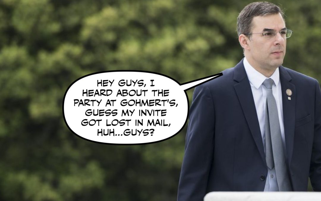 Justin Amash Just Fell Off a Whole Lotta Xmas Card Lists, & Other News From Hell