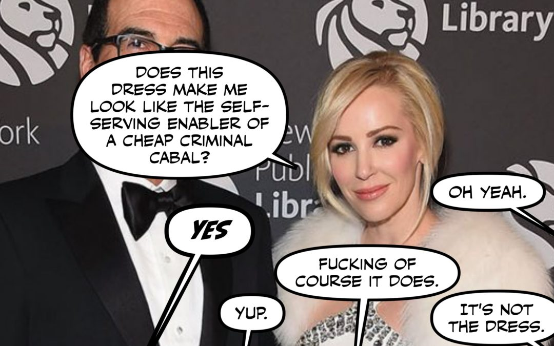 Atrocity, Lawlessness, Deception, and Louise Linton: Your Madness Roundup