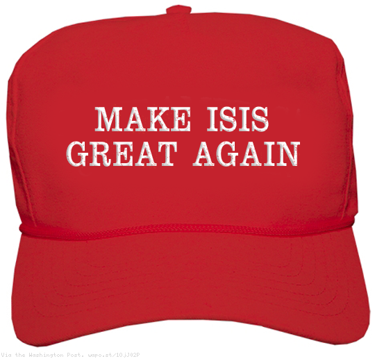 Let's see…Russia, Iran, Syria, ISIS…All Great Again. America? Hmmmm…No, You Don't Seem to be on the List.