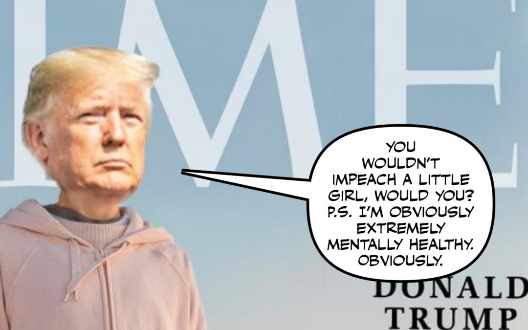 Can't Photoshop Your Way Out of Impeachment, Dotard