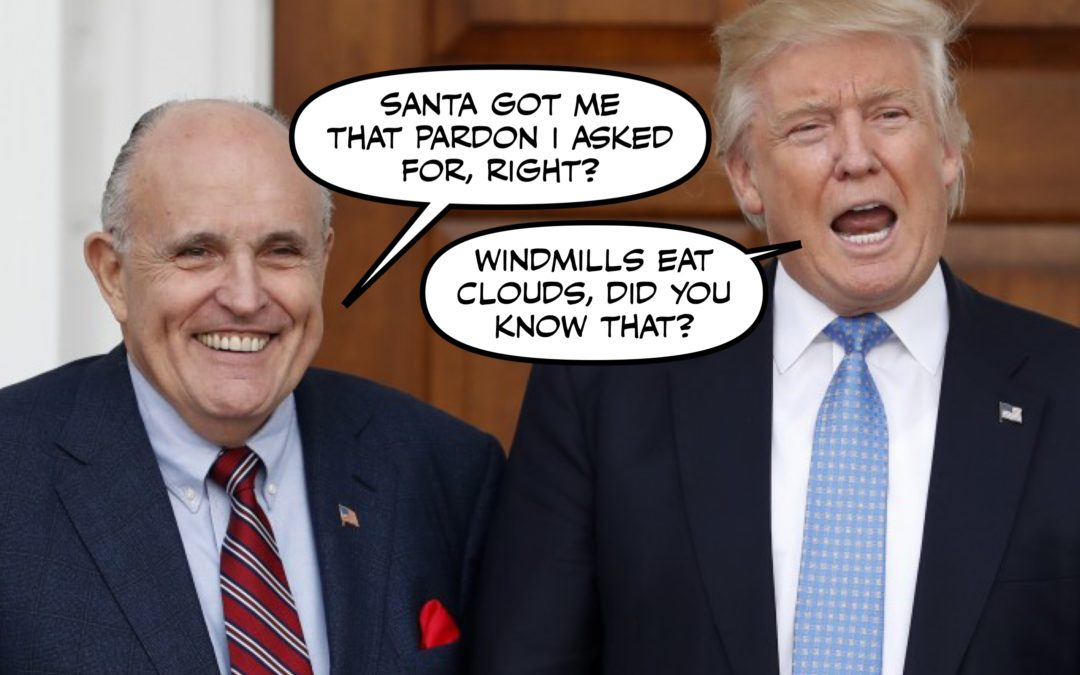 Let's Make This Don & Rudy's Last Good Xmas for a Loooooong Time