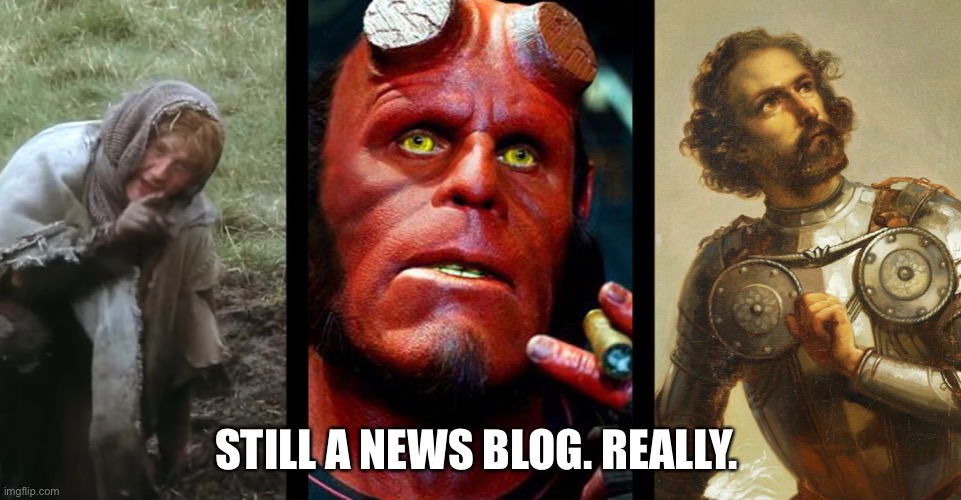 Monty Python, Hellboy, & a Conquistador: I Swear I'm Not Making Any of This Shit Up
