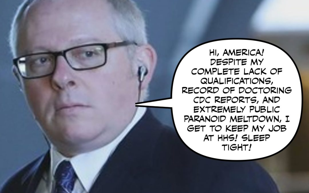 Coronavirus, Michael Caputo, & Other Things That Are Trying to Kill Us All