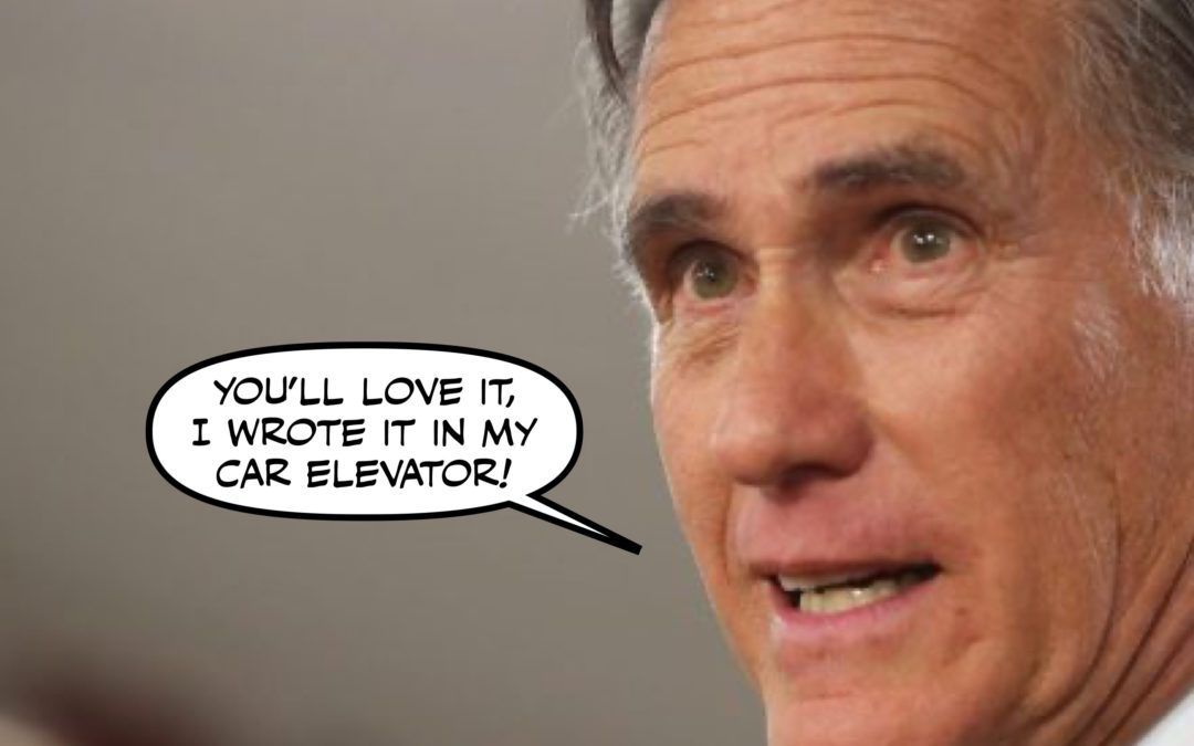 Plague, Voter Suppression, and Willard Romney's Thoughts on Tone