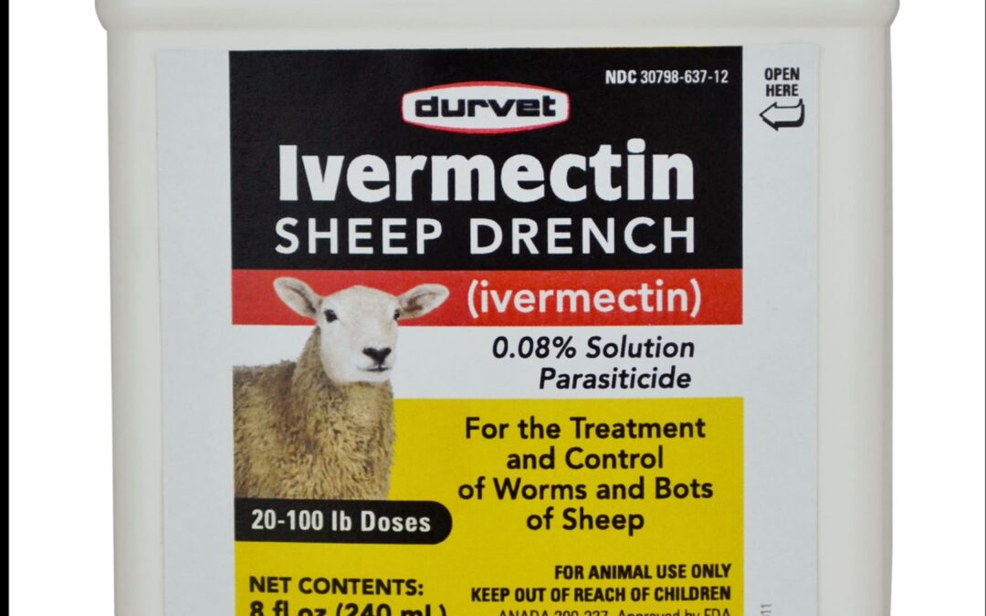 """What is """"Sheep Drench,"""" and Why Are Americans Putting It In Their Bodies? Depressing Answers Within!"""